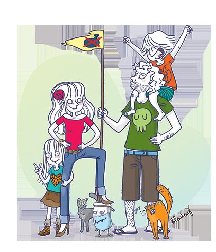La famille Zéro Dechêt